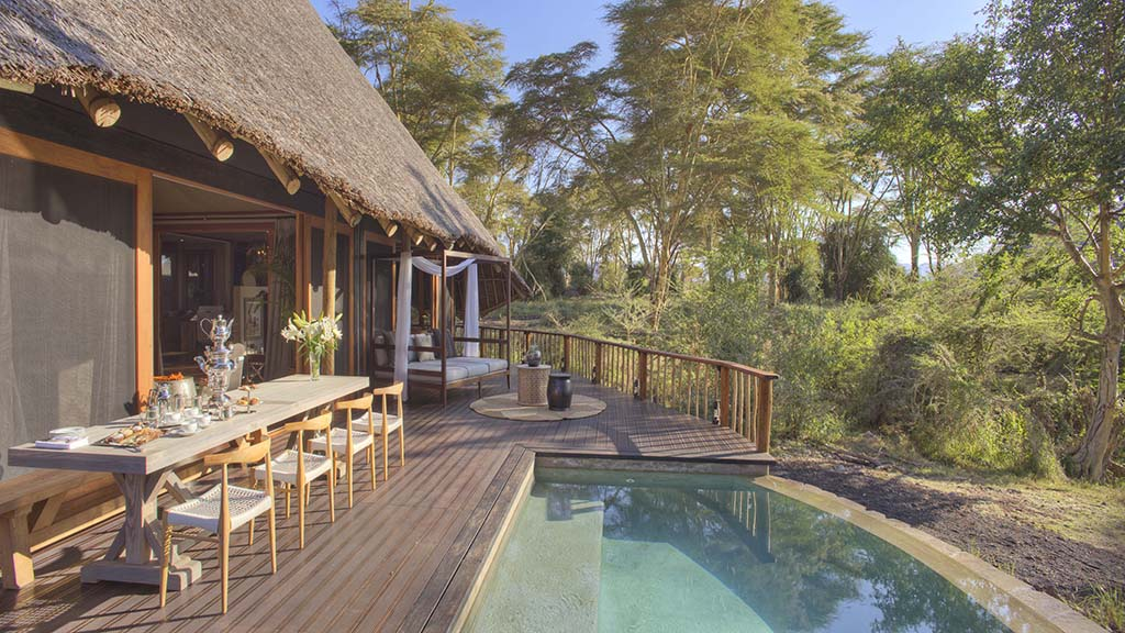 Finch Hattons Suite with private plunge pool